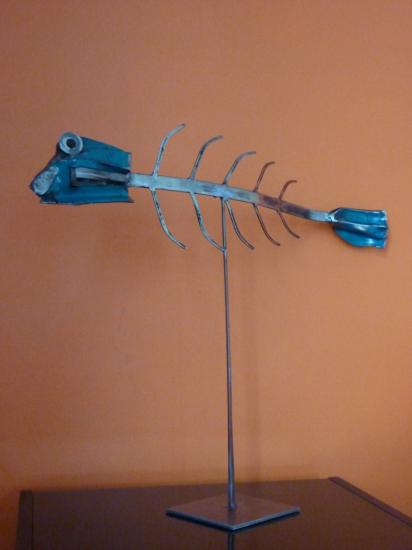 Blue fish*